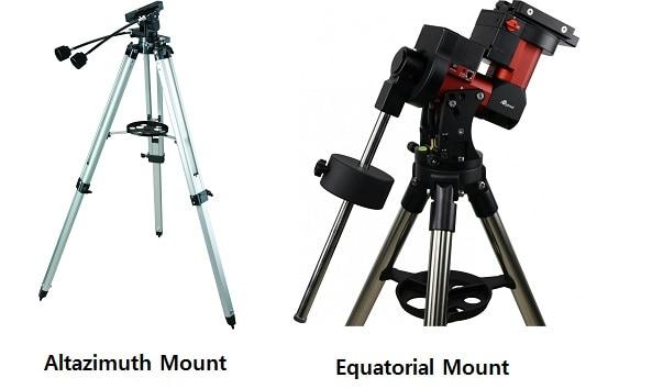 equatoiral vs altazimuth mount