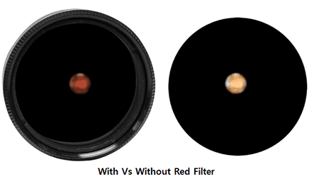 red telescope color filter