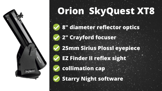 Orion Skyquest XT8 Review