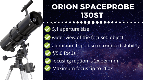 Orion Spaaceprobe 130ST Review