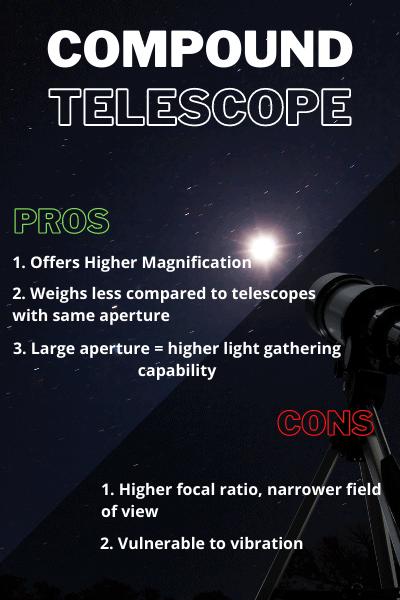 compound telescope pros cons